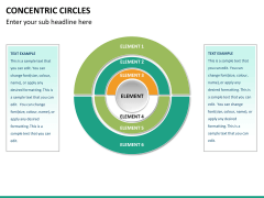 Concentric circles PPT slide  36