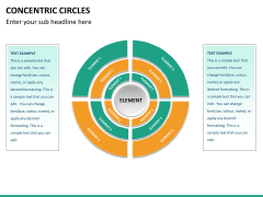 Concentric circles PPT slide  37