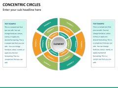 Concentric circles PPT slide  38