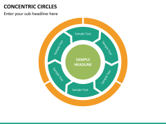 Concentric circles PPT slide  39