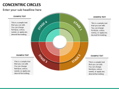 Concentric circles PPT slide  22