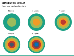 Concentric circles PPT slide  40