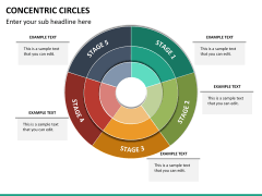 Concentric circles PPT slide  23