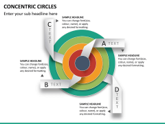 Concentric circles PPT slide  26