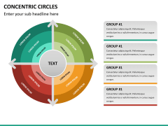 Concentric circles PPT slide  28