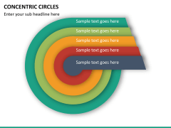 Concentric circles PPT slide  29