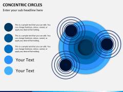 Concentric circles PPT slide  12
