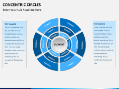 Concentric circles PPT slide  18