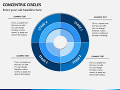 Concentric circles PPT slide  2
