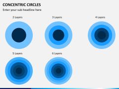 Concentric circles PPT slide  20