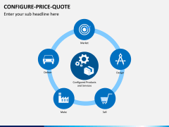 Configure price quote PPT slide 2