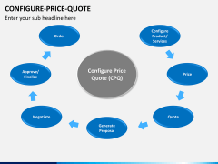 Configure price quote PPT slide 3