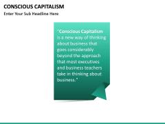Conscious Capitalism PPT slide 12