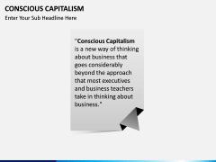 Conscious Capitalism PPT slide 1