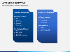 Consumer behavior PPT slide 9