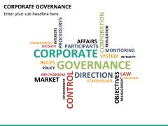 Corporate governance PPT slide 25