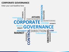 Corporate governance PPT slide 6