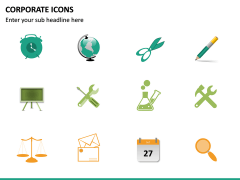 Corporate Icons PPT slide 23