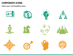 Corporate Icons PPT slide 16