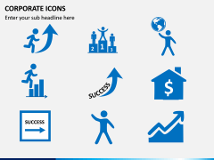 Corporate Icons PPT slide 1
