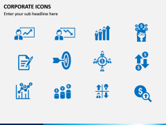 Corporate Icons PPT slide 2