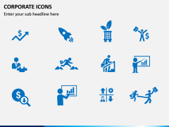 Corporate Icons PPT slide 3