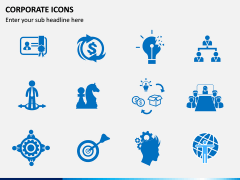 Corporate Icons PPT slide 4