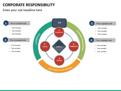 Corporate responsibility PPT slide 14