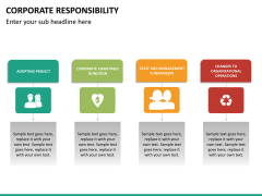 Corporate responsibility PPT slide 23