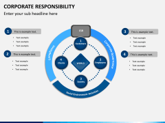 Corporate responsibility PPT slide 1