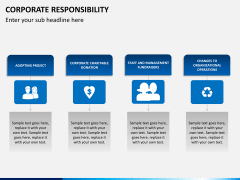 Corporate responsibility PPT slide 10