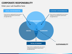 Corporate responsibility PPT slide 12