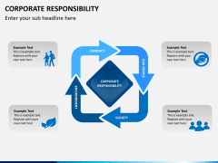 Corporate responsibility PPT slide 3