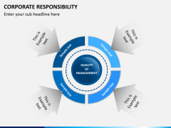 Corporate responsibility PPT slide 4