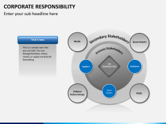 Corporate responsibility PPT slide 7