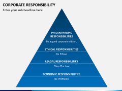 Corporate responsibility PPT slide 9