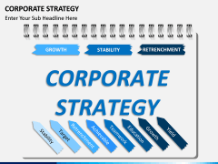 Corporate strategy PPT slide 1
