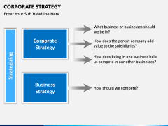 Corporate strategy PPT slide 12
