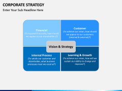 Corporate strategy PPT slide 13