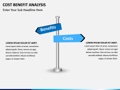 Cost benefit analysis PPT slide 9