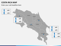 Costa Rica Map PPT slide 11