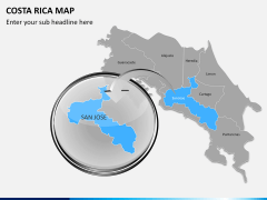 Costa Rica Map PPT slide 8