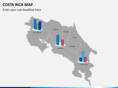 Costa Rica Map PPT slide 9