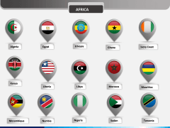 Country flag pins - type 2 PPT slide 9