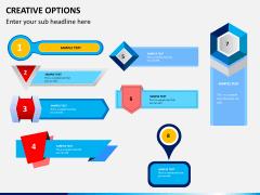 Creative options PPT slide 17