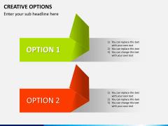 Creative options PPT slide 5