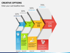 Creative options PPT slide 9