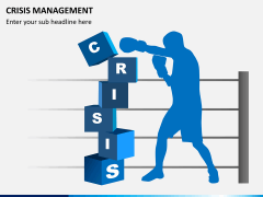Crisis management PPT slide 1