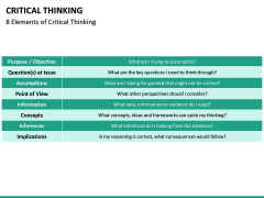 Critical thinking PPT slide 30