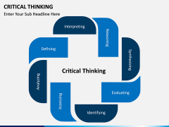 Critical thinking PPT slide 1